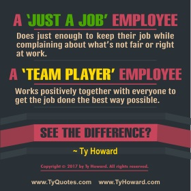 Ty Howard's Quote or Quotation on Teamwork
